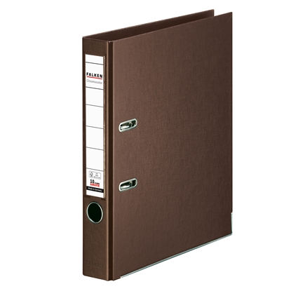 Picture of Falken Chromocolor PP Lever Arch File, 5 cm, brown