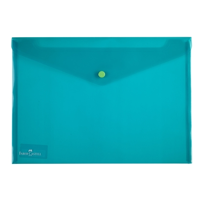 Picture of Faber-Castell PP File, with button, green