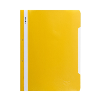Picture of Office 1 Superstore PP Flat File with perforation, yellow, 12 pcs.