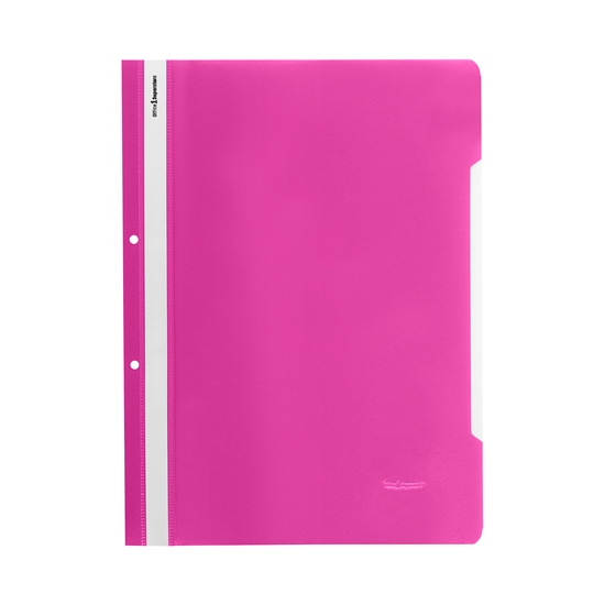 Picture of Office 1 Superstore PP Flat File with perforation, pink, 50 pcs.