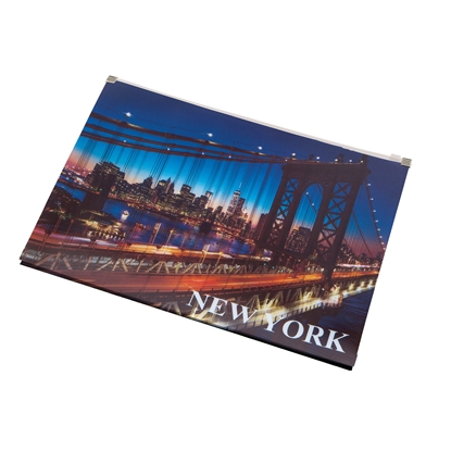 Снимка на Panta Plast Папка New York Collection, PP, с цип, A4
