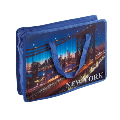 Снимка на Panta Plast Чанта New York Collection, PP, с дръжки, A4