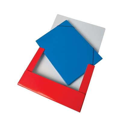 Picture of File Case, A4, 60 mm, UV coating, red
