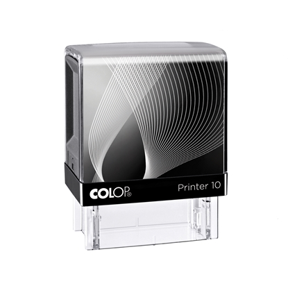 Picture of Colop Stamp Printer 10, rectangular, 10 x 27 mm, black