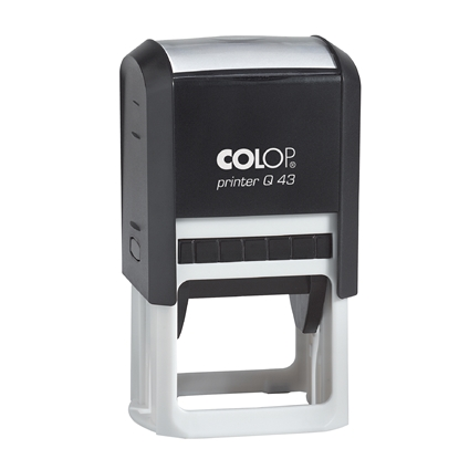 Picture of Colop Stamp Q 43, square, 43 х 43 mm, black