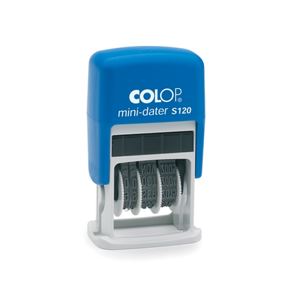 Picture of Colop  S120/4 Dater with letters, 4 mm, black