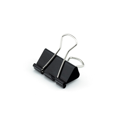 Picture of Top Office Money Binder Clips, 32 mm, black, 12 pcs.