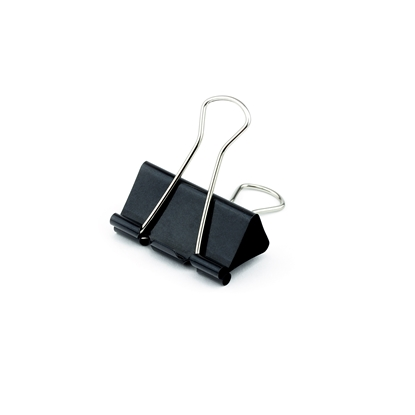 Picture of Top Office Money Binder Clips, 41 mm, black, 12 pcs.