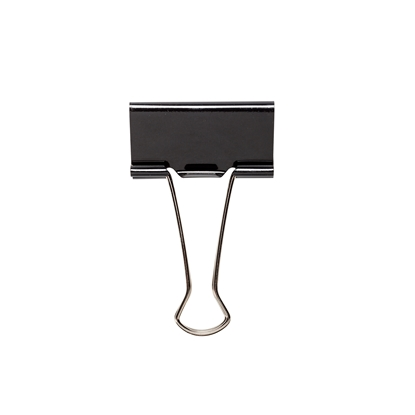 Picture of Top Office Money Binder Clips, 51 mm, black, 12 pcs.