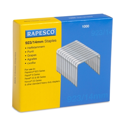 Picture of Rapesco Staples, 23/14 mm, 1000 pcs.