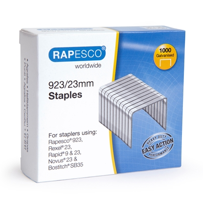 Picture of Rapesco Staples, 23/23 mm, 1000 pcs.