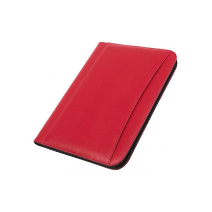 Picture of TOPS Conference portfolio Gentle, A4, with calculator, red