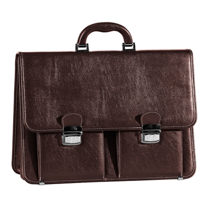 Picture of Briefcase Classic II, brown