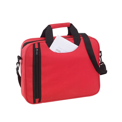 Picture of TOPS Document bag Busy, red