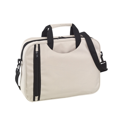 Picture of TOPS Document bag Busy, beige