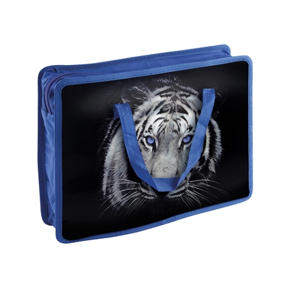 Снимка на Panta Plast Чанта Tiger Collection, PP, с дръжки, A4