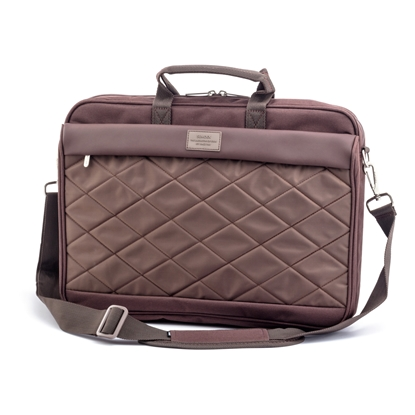 "Picture of Sumdex  PON-327BR Notebook Brief, 15.6"", brown"