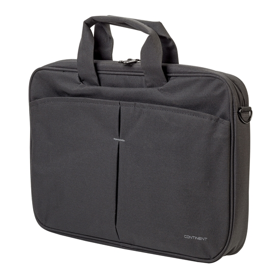 "Picture of Continent CC-012 Basic Notebook Brief, 15.6"", black"