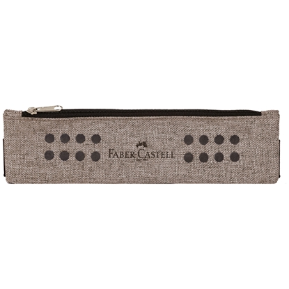 Picture of Faber-Castell Pencil pouch Grip, with a zipper, grey