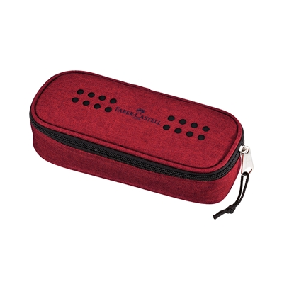 Picture of Faber-Castell Pencil pouch Grip, big, marsala red