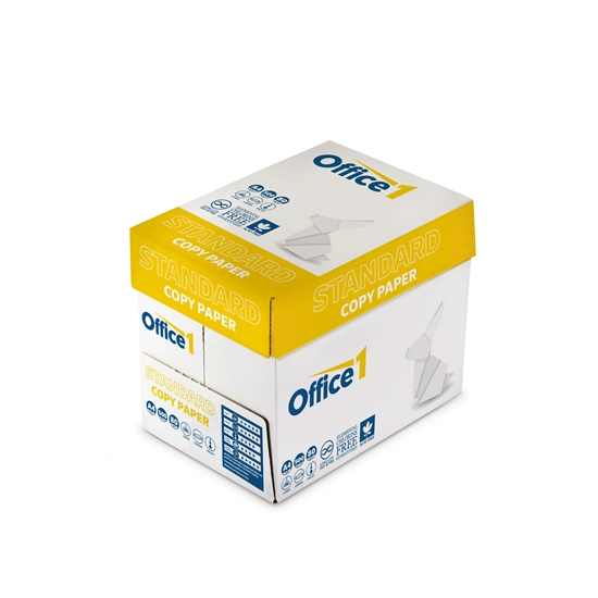 Picture of Office 1 Superstore Standard Copy Paper, A4, 80 g/m2, 500 sheets, 5 packs