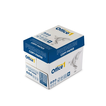 Picture of Office 1 Superstore Premium Copy Paper, A4, 80 g/m2, 500 sheets, 5 packs
