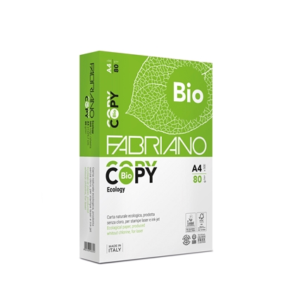 Picture of Fabriano Copy Bio Copy Paper, 100% ecological, A4, 80 g/m2, 500 sheets