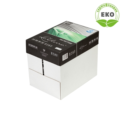 Picture of Lettura 60 Copy Paper, 100% recycled A4, 80 g/m2, 500 sheets, 5 packs