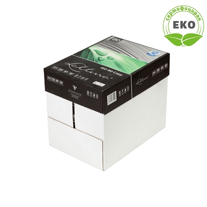 Picture of Lettura Copy paper 80, 100% recycled, A4, 80 g/m2, 500 sheets, 5 packages