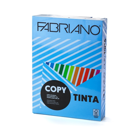 Picture of Fabriano Copy Tinta Copy Paper, A4, 80 g/m2, sky, 500 sheets