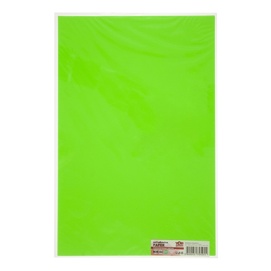 Picture of Top Office Self-adhesive Paper, 20 x 30 cm, green, 10 sheets