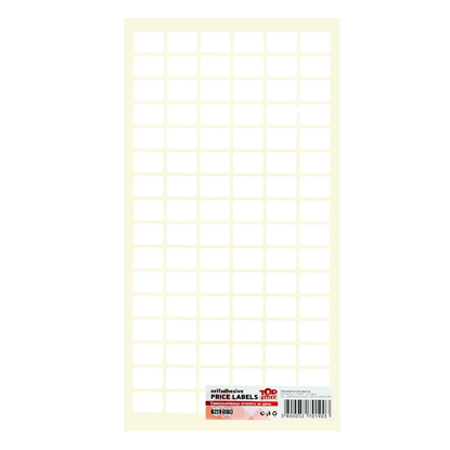 Picture of Top Office Self-adhesive Price Labels, 12 x 18 mm, white, 960 pcs.