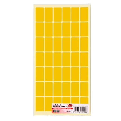 Picture of Top Office Self-adhesive Price Labels, 17 x 30 mm, orange, 420 pcs.