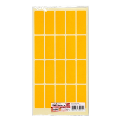 Picture of Top Office Self-adhesive Price Labels, 21 x 51 mm, orange, 200 pcs.