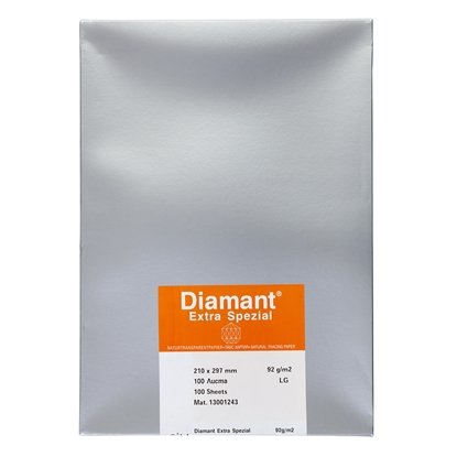 Picture of Diamant Tracing Paper, A4, 92 g/m2, 100 sheets