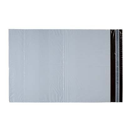 Picture of Envelope delivery, courier, with pocket, 280 x 350 mm + 50 mm, grey, 50 pcs