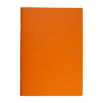 Picture of Fabriano Notebook, A4,  lined, offset paper, soft covers, 40 sheets, orange