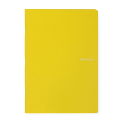 Picture of Fabriano Notebook, A4,  lined, offset paper, soft covers, 40 sheets, yellow