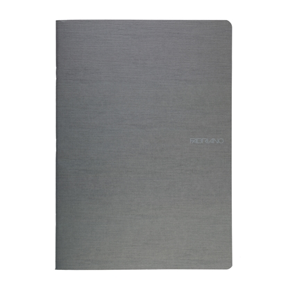 Picture of Fabriano Notebook, A4,  lined, offset paper, soft covers, 40 sheets, grey