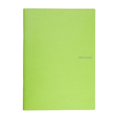 Picture of Fabriano Notebook, A4,  lined, offset paper, soft covers, 40 sheets, light green