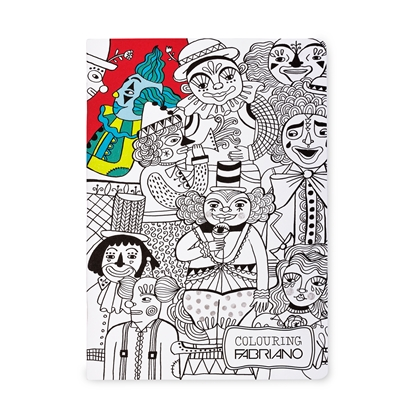 Picture of Fabriano notebook Colour Kids, A4, wide lines, offset paper, soft cover, 40 sheets