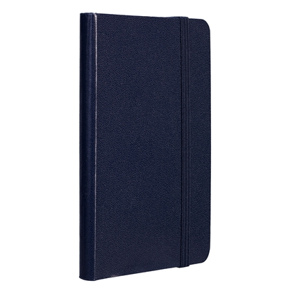 Picture of TOPS Attendant Notebook, A6, with elastic strap, offset paper, 80 sheets, dark blue