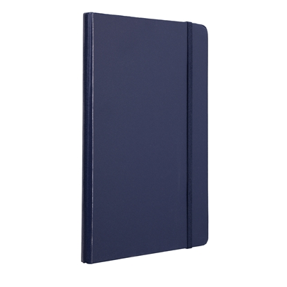 Picture of TOPS Attendant Notebook, A5, with elastic strap, offset paper, 80 sheets, dark blue