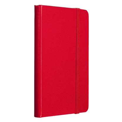 Picture of TOPS Attendant Notebook, A6, with elastic strap, offset paper, 80 sheets, red