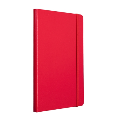 Picture of TOPS Attendant Notebook, A5, with elastic strap, offset paper, 80 sheets, red