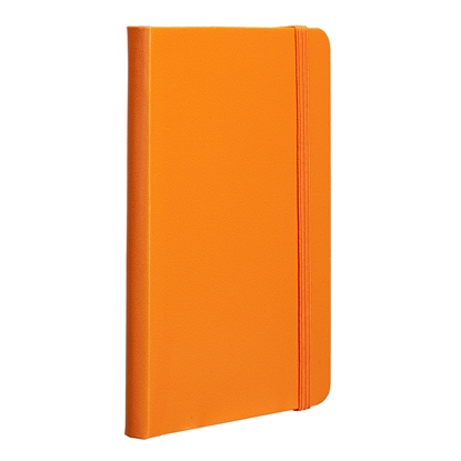 Picture of TOPS Attendant Notebook, A6, with elastic strap, offset paper, 80 sheets, orange