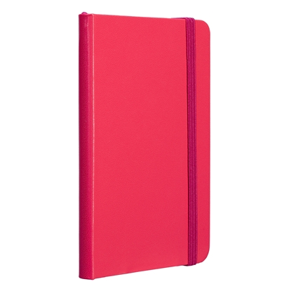 Picture of TOPS Attendant Notebook, A6, with elastic strap, offset paper, 80 sheets, pink