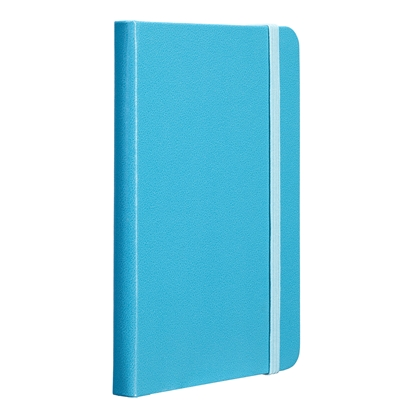 Picture of TOPS Attendant Notebook, A6, with elastic strap, offset paper, 80 sheets, turquoise