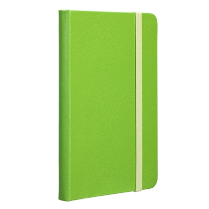 Picture of TOPS Attendant Notebook, A6, with elastic strap, offset paper, 80 sheets, green