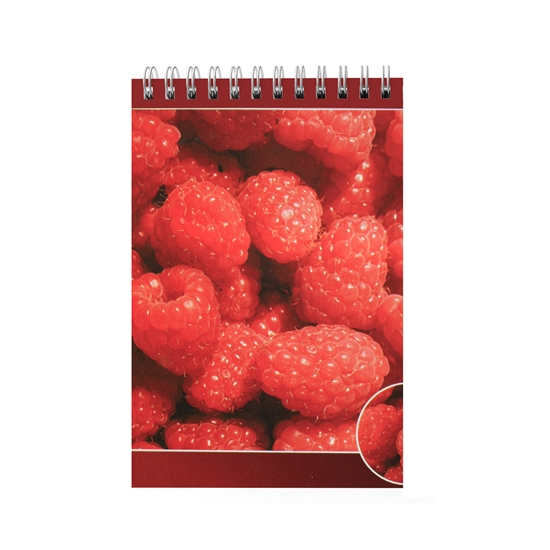 Picture of Pad Fresh, A6, wide lines, offset paper, spiral, soft cover, 40 sheets